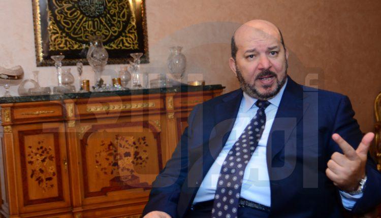 جمال الجارحي رئيس غرفة الصناعات المعدنية باتحاد الصناعات المصرية