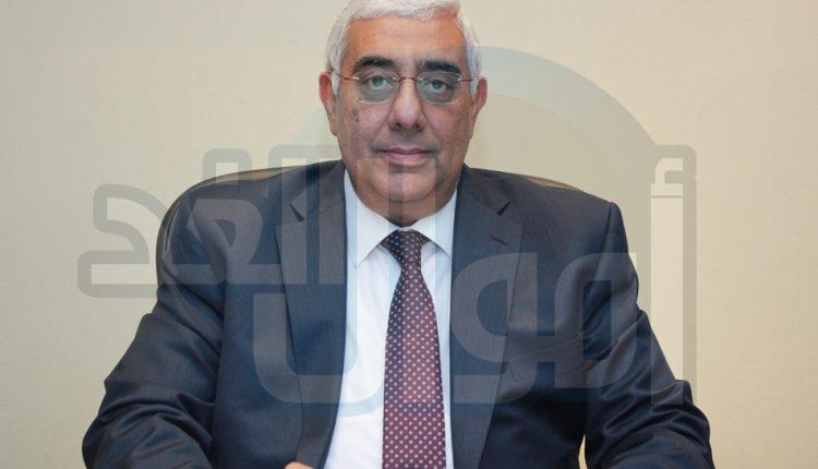 أشرف القاضي رئيس مجلس ادارة المصرف المتحد