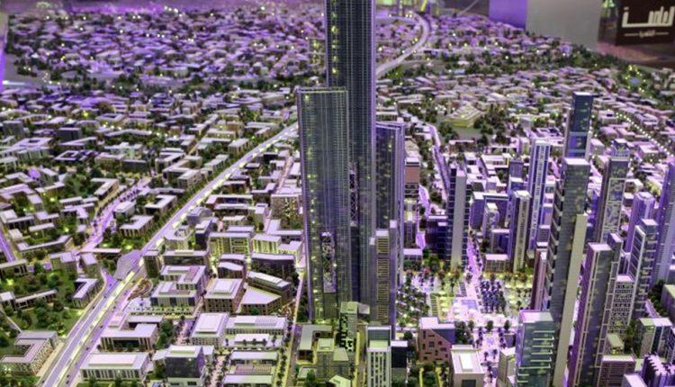 ماكيت العاصمة الإدارية الجديدة