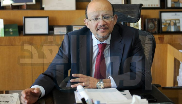 حسين رفاعى رئيس بنك قناة السويس