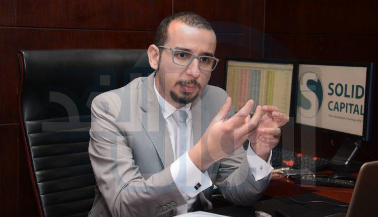 محمد رضا، الرئيس التنفيذي لبنك الاستثمار سوليد كابيتال
