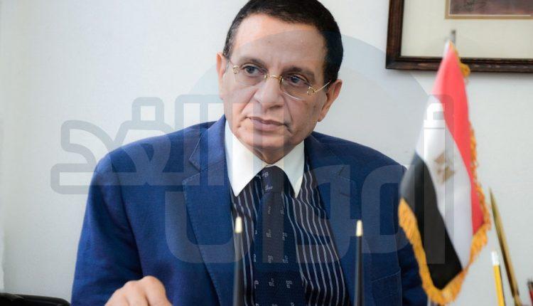 أشرف الربيعى - رئيس وحدة الكويز بوزارة التجارة والصناعة