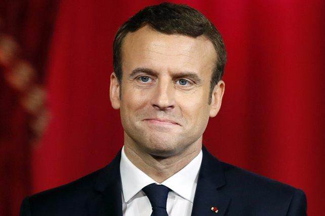 إيمانويل ماكرون، رئيس فرنسا