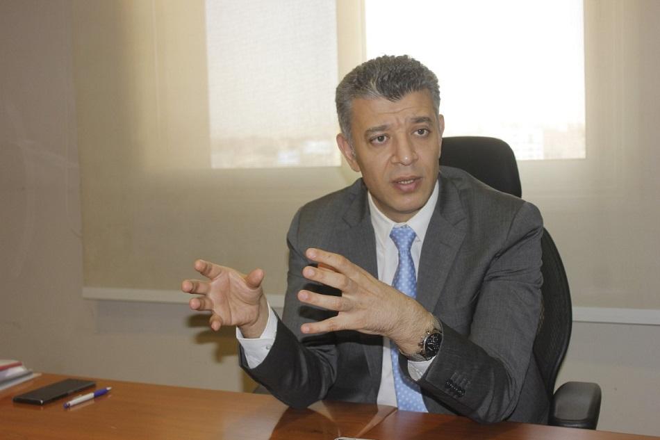 المهندس هشام الجمل مدير إدارة الموارد الإدارية والمالية بشركة انفنتي سولار