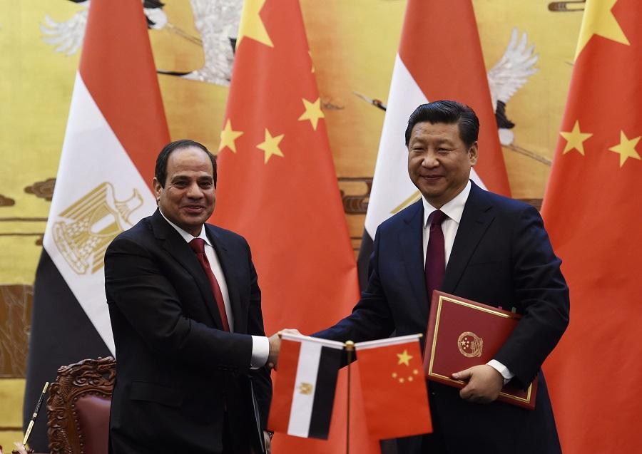 السيسي ورئيس الصين - ملف العلاقات المصرية الصينية