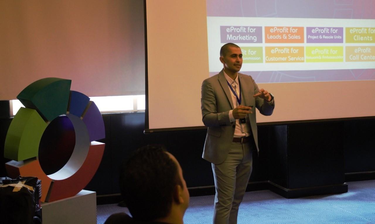 محمد الحسيني الرئيس التنفيذي لشركة إثمار للتكنولوجيا العقارية