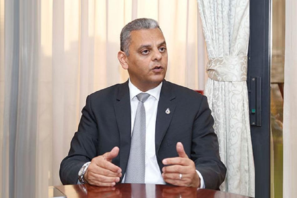 علاء الزهيري، العضو المنتدب لشركة جي أي جي للتأمين – مصر