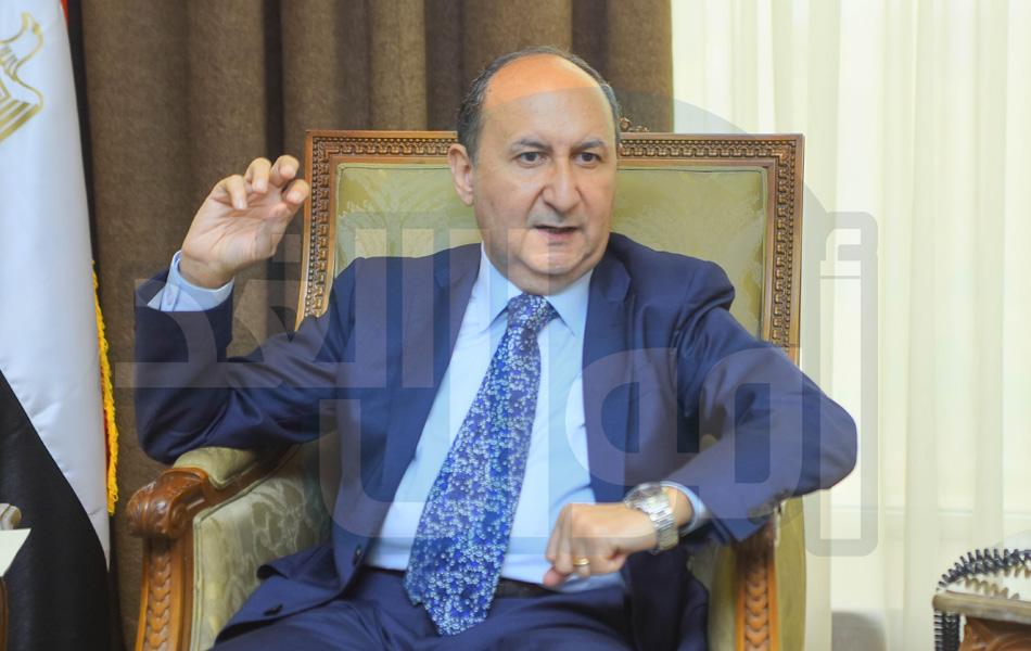 المهندس عمرو نصار وزير التجارة والصناعة - وزارة الصناعة