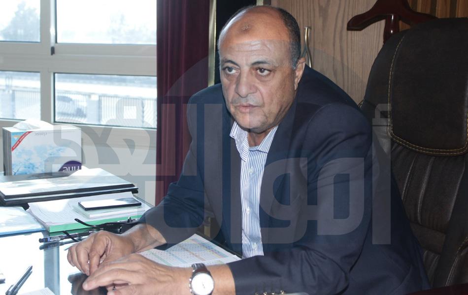 المهندس على عياد ، رئيس مجلس الإدارة والعضو المنتدب لشركة النيل العامة لانشاء الطرق