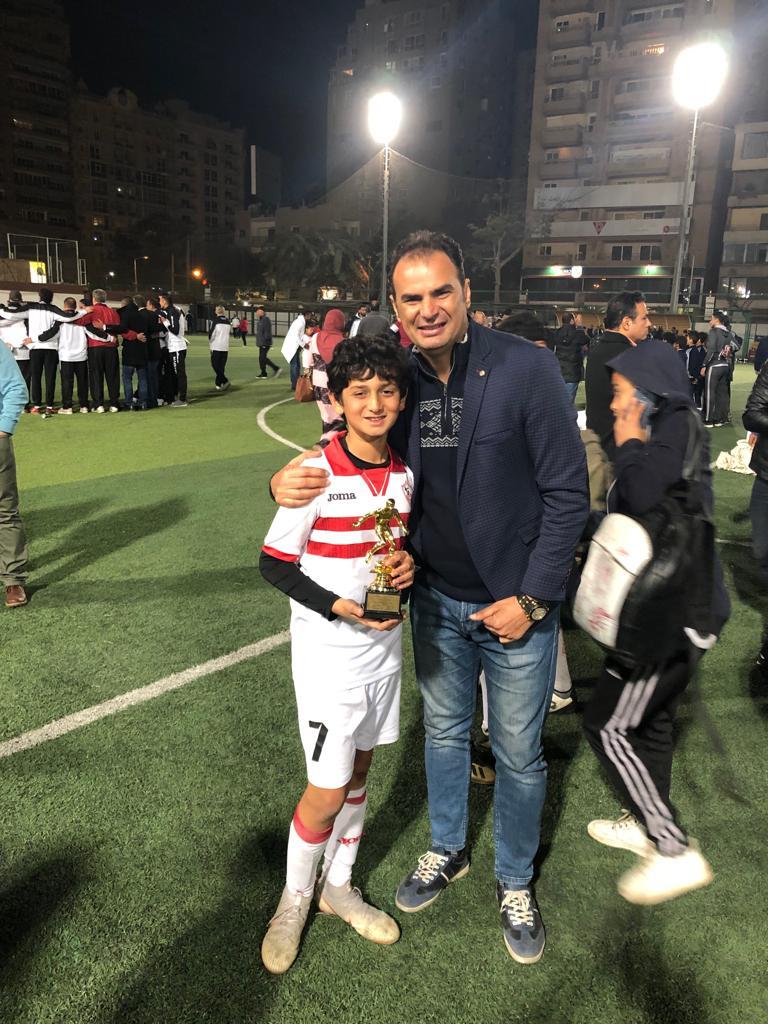 لاعب نادي الزمالك محمد هيثم محمد