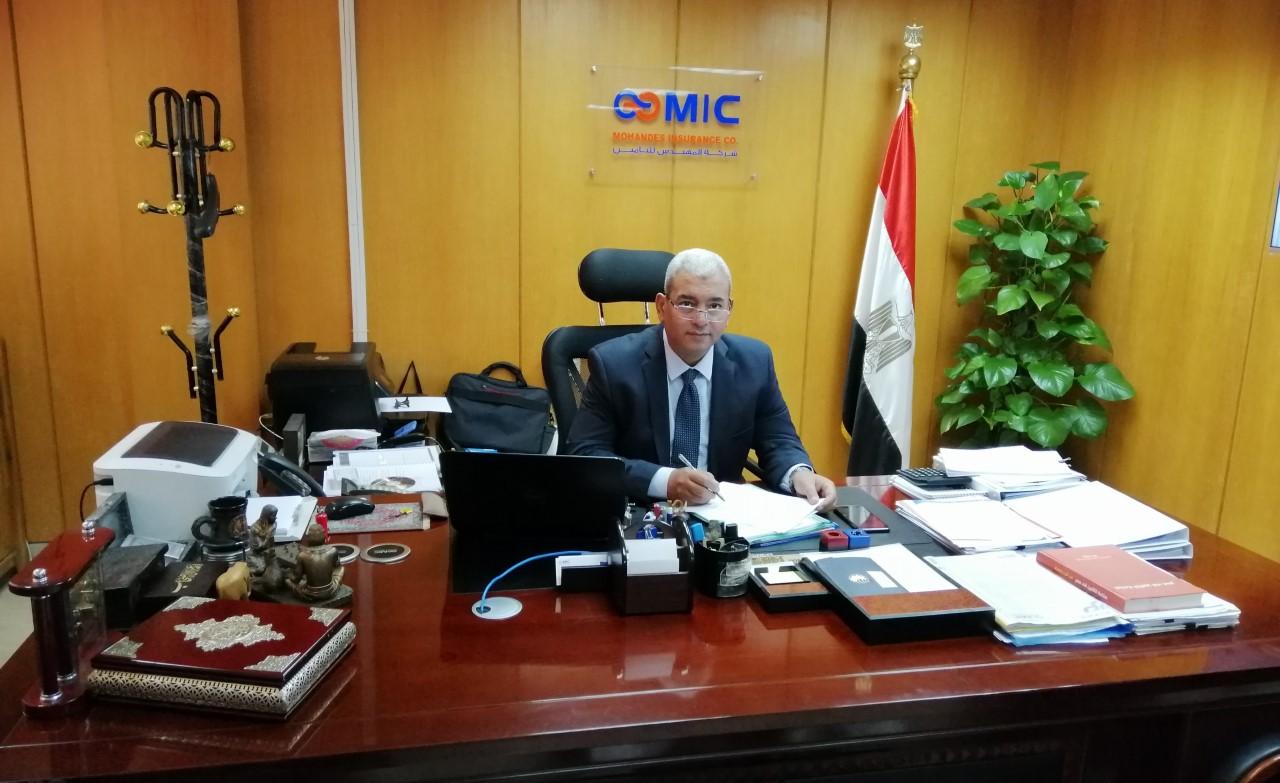 رضا فتحي، رئيس مجلس الإدارة والعضو المنتدب لشركة المهندس للتأمين