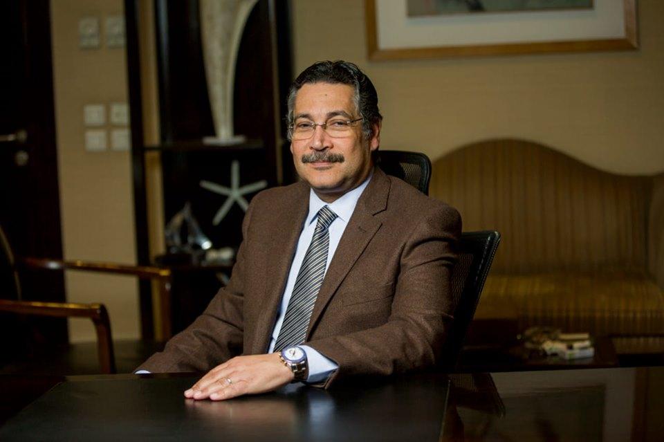 حسن غانم،رئيس مجلس إدارة شركة سيتي ايدج
